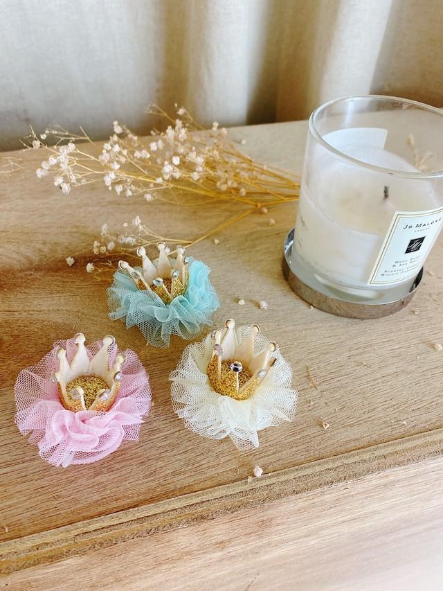 【Dogwear BaeBae】Lace crown pin