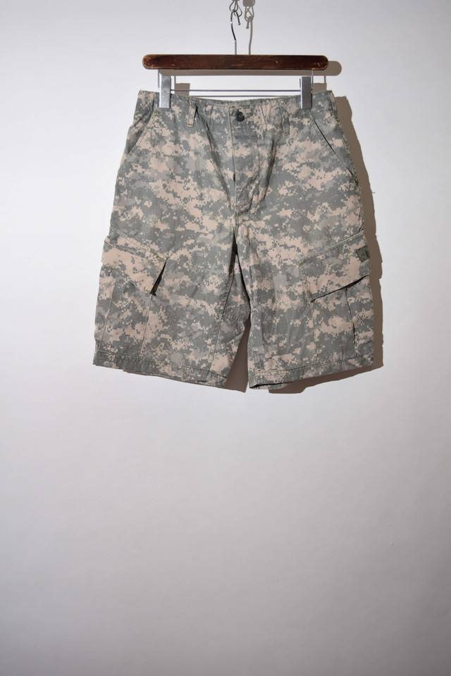 【w32寸】US ARMY CARGO SHORTS カーゴショーツ DIGITAL CAMO 400613190704