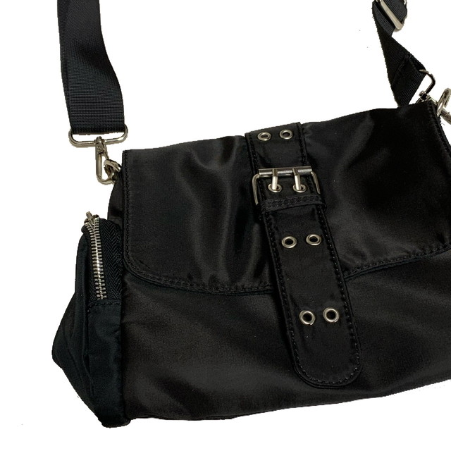 【Cat & Parfum】Nylon Messenger Bag