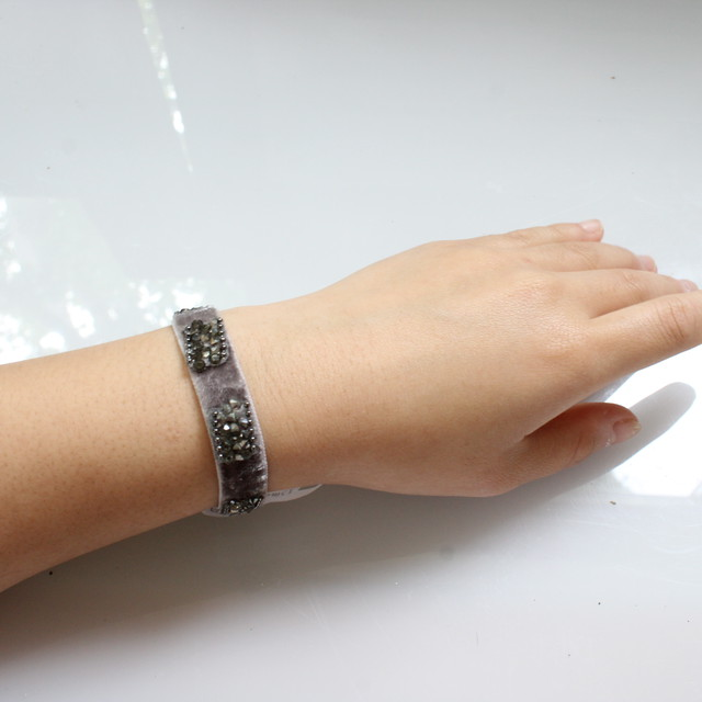 Beatrice Bracelete 13㎜(grey)