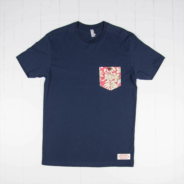 Tシャツ Surfbord Red TN119 Navy/サイズM