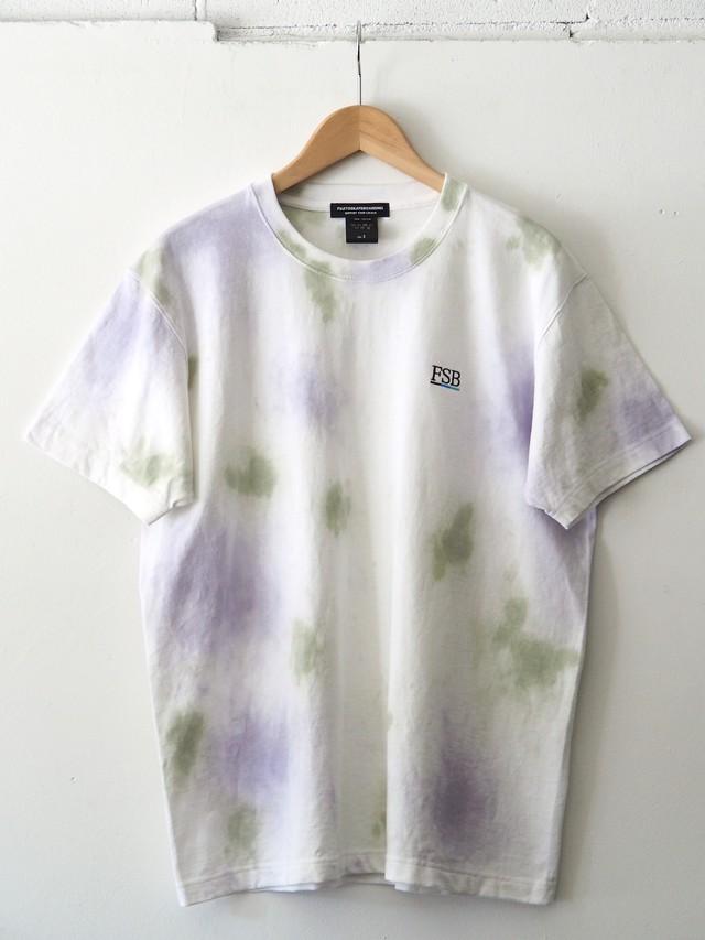 FSB T-Shirt Color Bar Tie Dye ver. Green/Purple