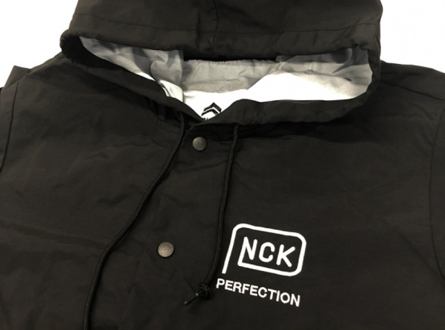 PNCK PERFECTION LOGO NYLON HOODIE ( パンケーキ パーフェクション ロゴ ナイロン フーディー ) / PANCAKE パンケーキ