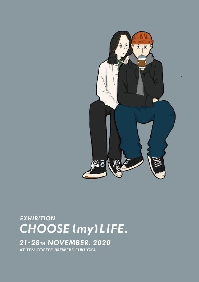 CHOOSE (my) LIFE. 11月23日(月)15:00-15:20 似顔イベントチケット