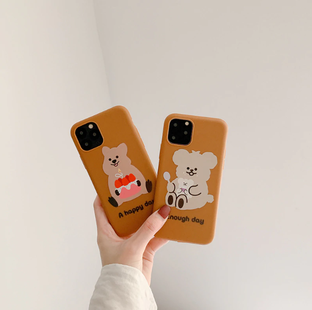 【オーダー商品】 Cute dog iphone case
