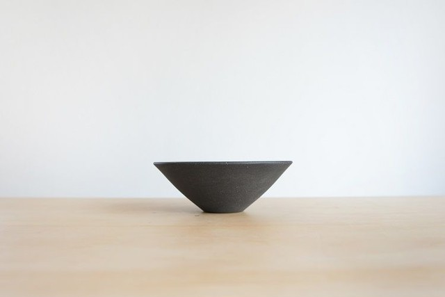 SUITAGAMA (スイタガマ) SG04 Bowl (ボウル・深皿) S Black