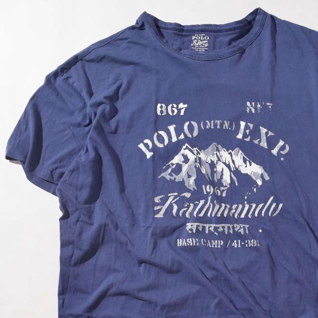 【XLサイズ】POLO RALPH LAUREN ポロ ラルフローレン POLO MTN EXP TEE 半袖Tシャツ NVY ネイビー XL 400601191035