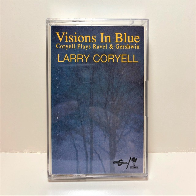 [中古カセット]  Larry Coryell ‎– Visions In Blue Coryell Plays Ravel & Gershwin