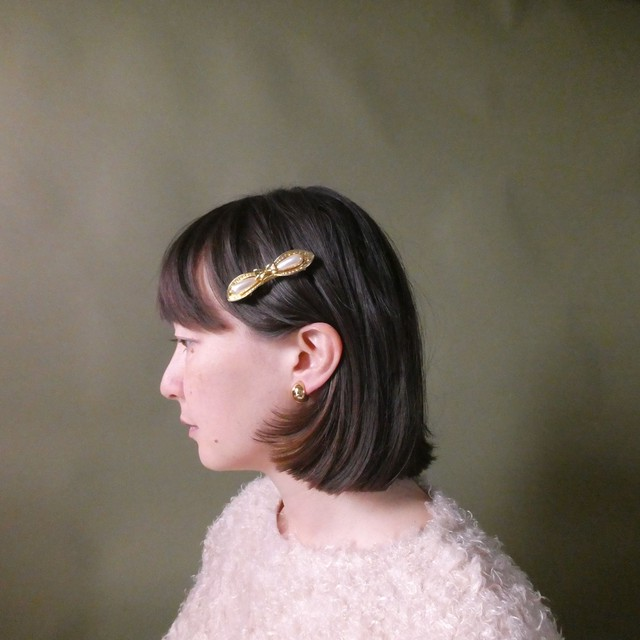 the knit + vintage collection 4 the pearl hair clip edition 2