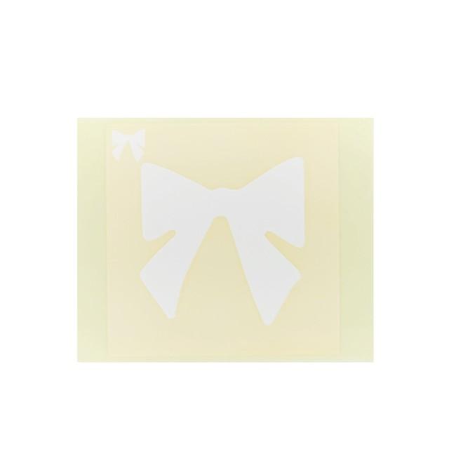 [テンプレートシール]  リボン (10枚入)