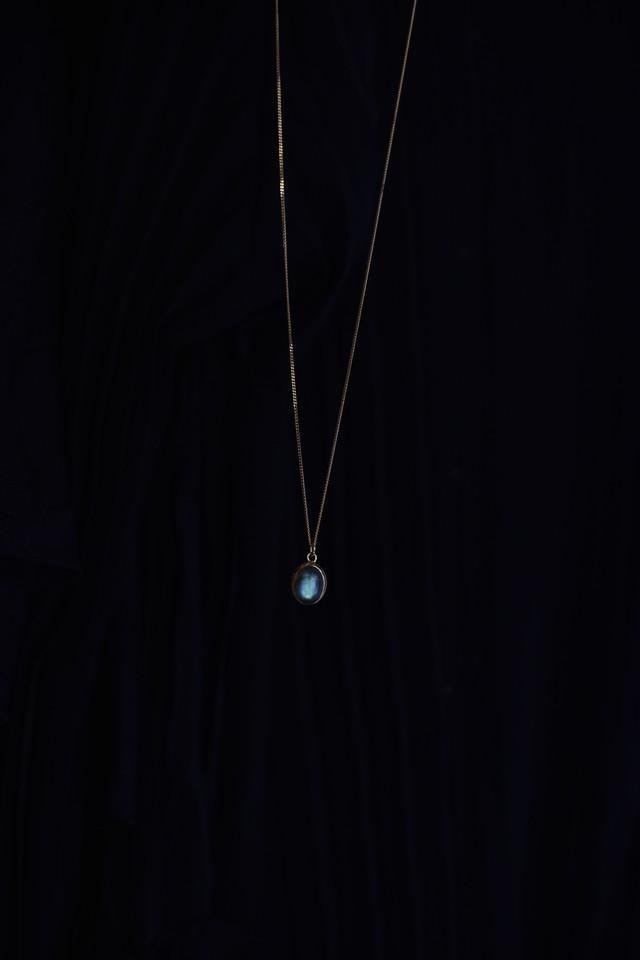 GAGAN Labradorite necklace 18kgp