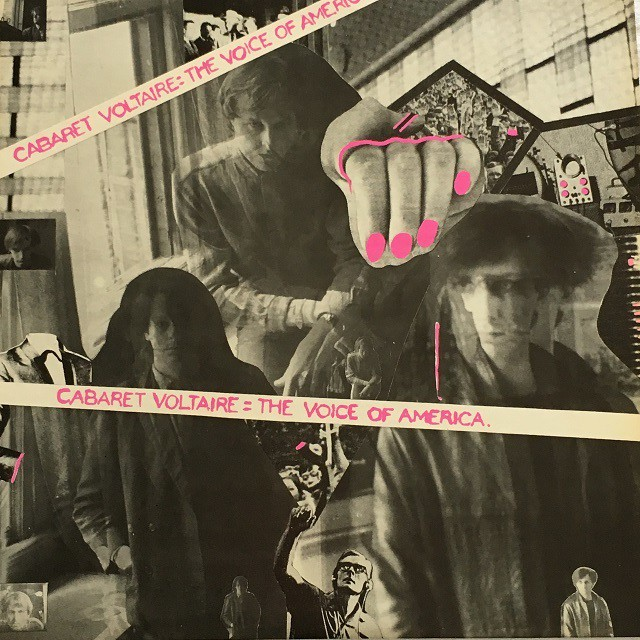 【LP・米盤】Cabaret Voltaire  /  The Voice Of America