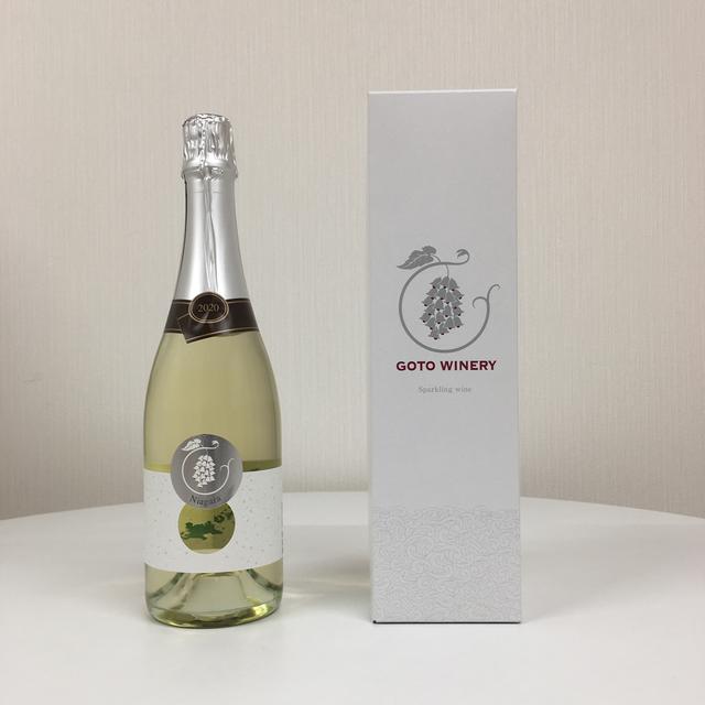 スパークリングワイン ナイアガラ2020(白)