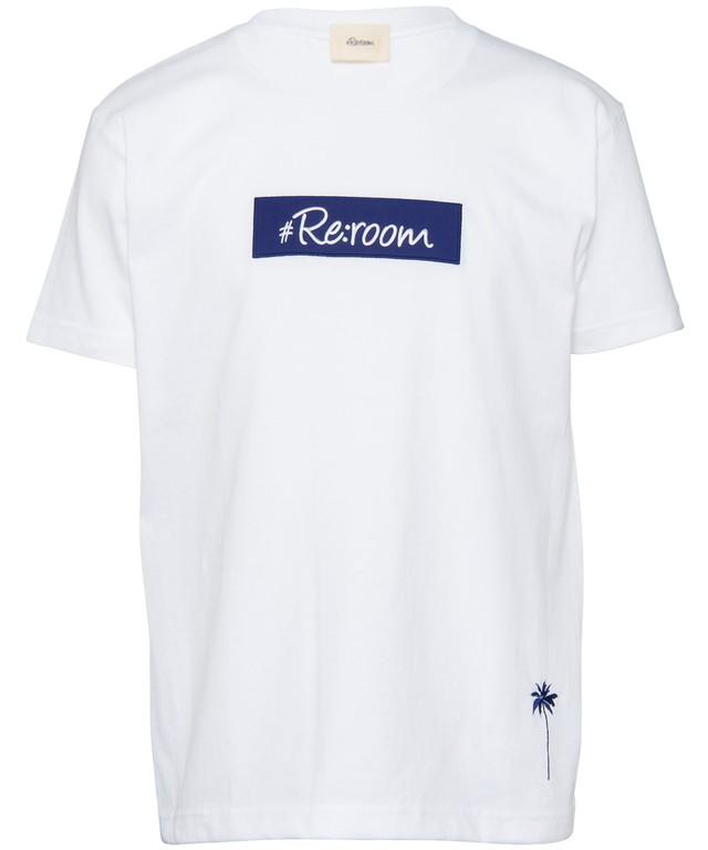 BOX LOGO APPLIQUE T-shirt[REC268]