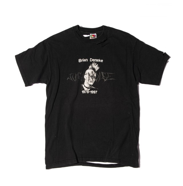 JUST NOISE BLACK LABEL: Tee-004