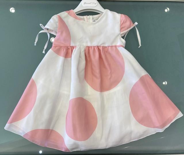 SpecialDay パンツ付きドットチュールスカート(ピンク) 2~6才