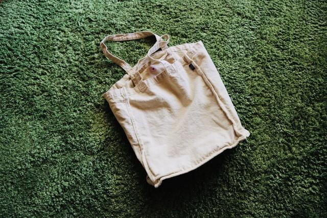 【新色入荷】倉敷・製品染め ガシガシ使える帆布エコバッグ