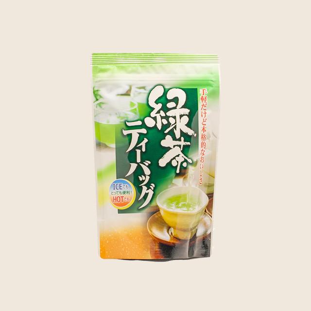 緑茶ティーバッグひも付 (2g × 10個)