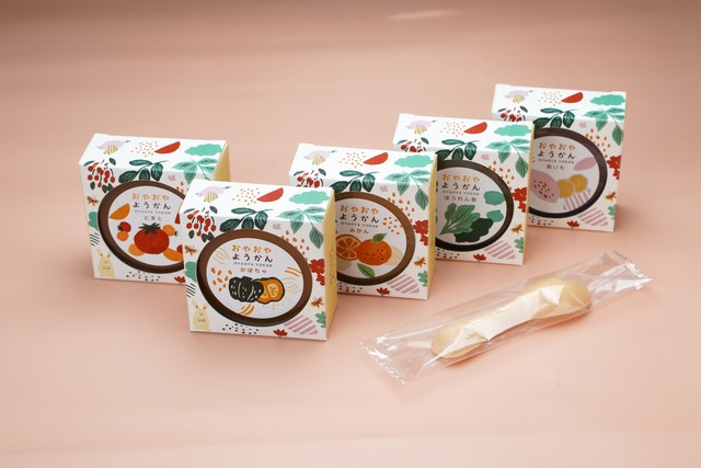 【新商品】 おやおやようかん 6個入 親子で楽しむ羊羹セット (薄墨羊羹こざくらセット)