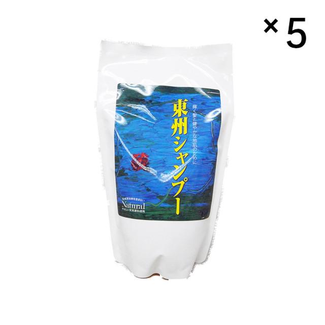東州シャンプー【詰め替え用5袋セット】