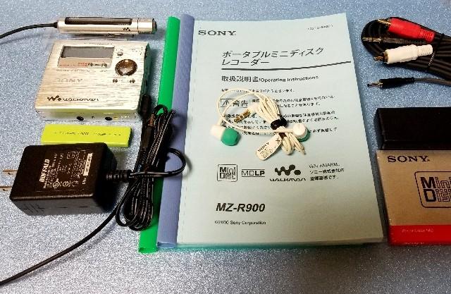 MDポータブルレコーダー SHARP MD-DR77 1BitMD MDLP 完動品