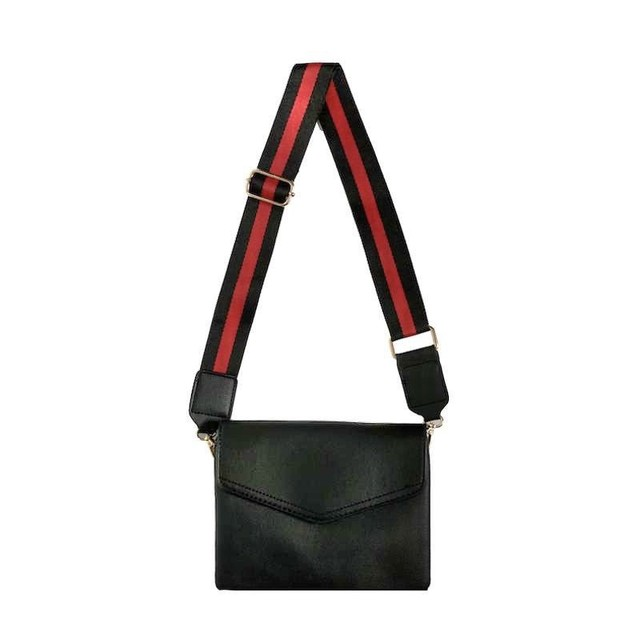 line leather shoulder bag	PD2033