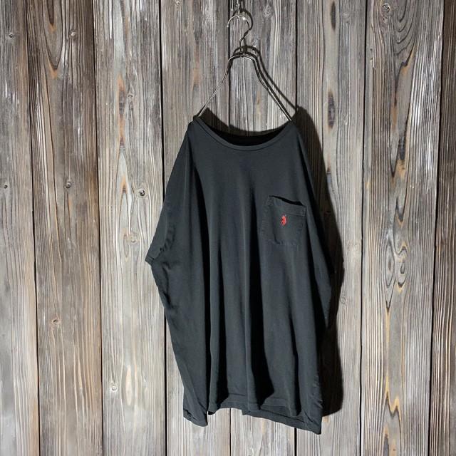[Ralph Lauren]one point black T shirt