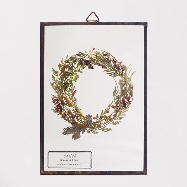 Botanical Frame S35 - Gold