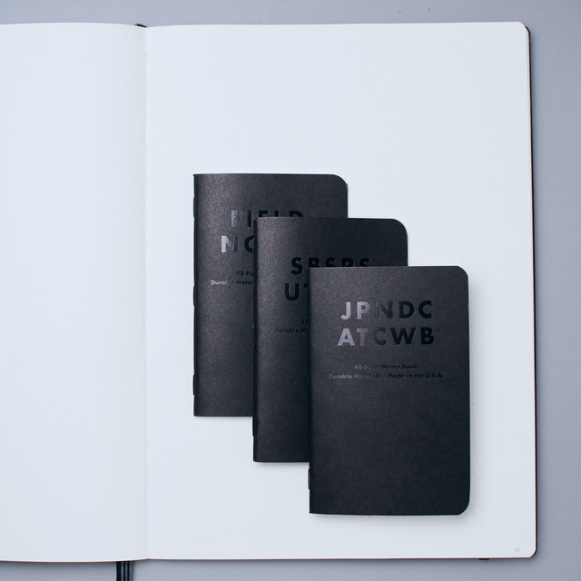 FIELD NOTES 3PACKS -CLANDESTINE- LIMITED EDITION-