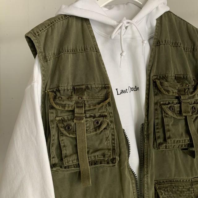 Vintage Fishing Vest(khaki)