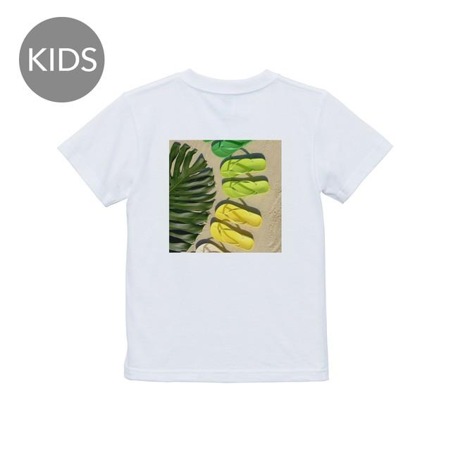 ipanema green 半袖 白 KIDS