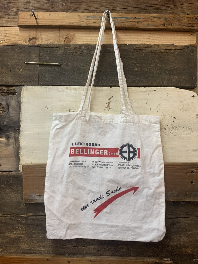 euro recycle cotton bag