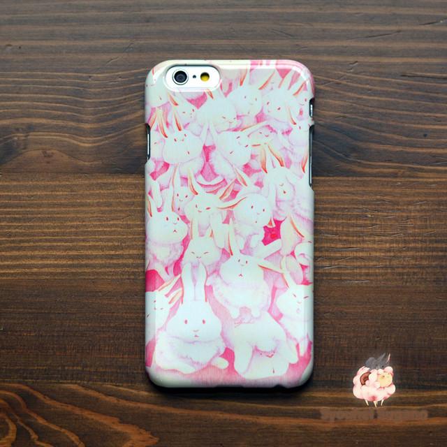 iphone6s ケース ウサギ iphone6s ケース うさぎ iphone6 ケース ウサギ iphone6 ケース うさぎ うさぎさんまみれ(みんな)/Syouhei Sugano