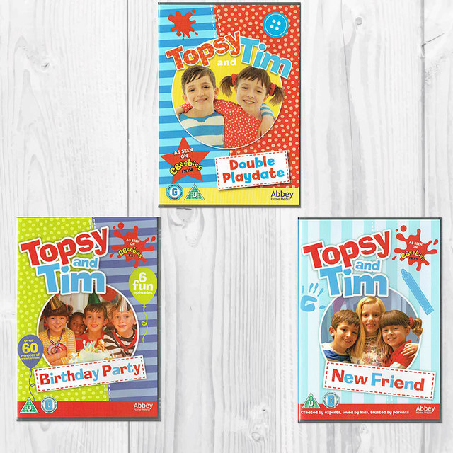 「Topsy and Tim」DVD3枚 Aセット