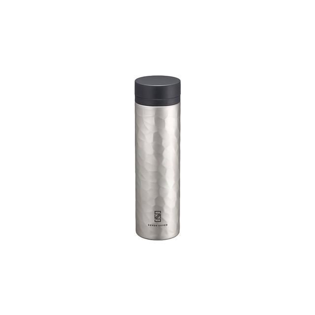 SEVEN SEVEN (セブンセブン) tsutsu tumbler (ツツ タンブラー) ステンレス真空ボトル・タンブラー ( Voronoi Silver) 【270ml】