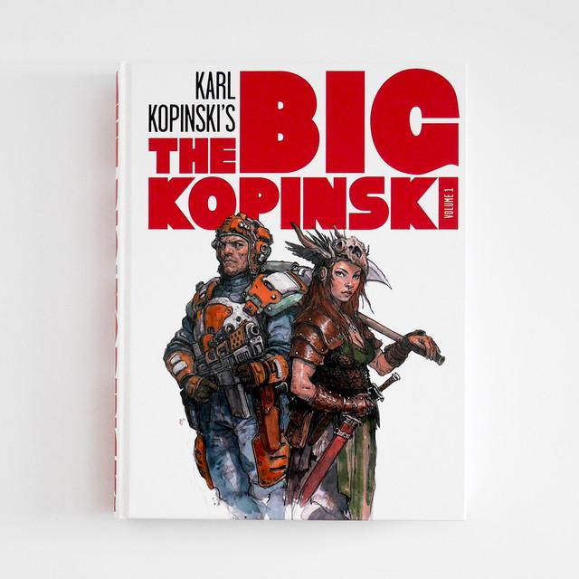 イラスト集「The Big Kopinski」イラストレーターKarl Kopinski(カール・コピンスキー)