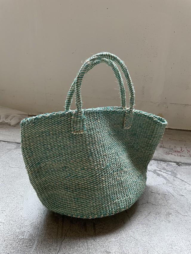 handmade african basket bag