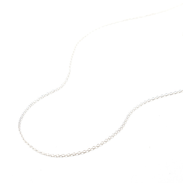 [パーツ]SV925ネックレスチェーン40cm M0103