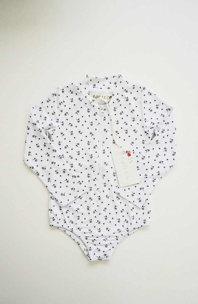 Ruffets and Co / Maggie Rashsuit -White