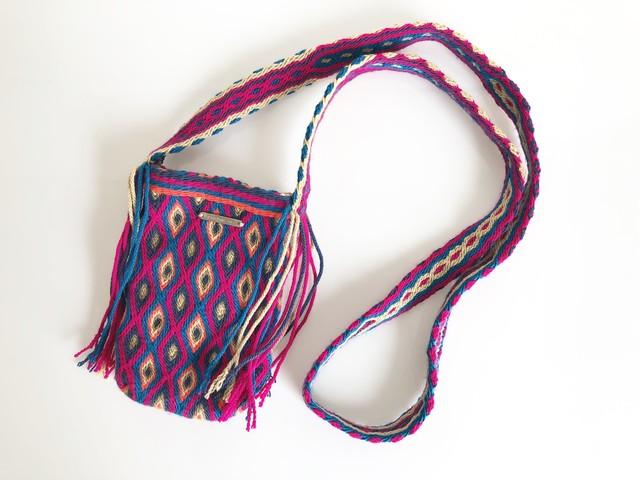 ワユーバッグ (Wayuu bag) 携帯ケース/ポシェット no.2