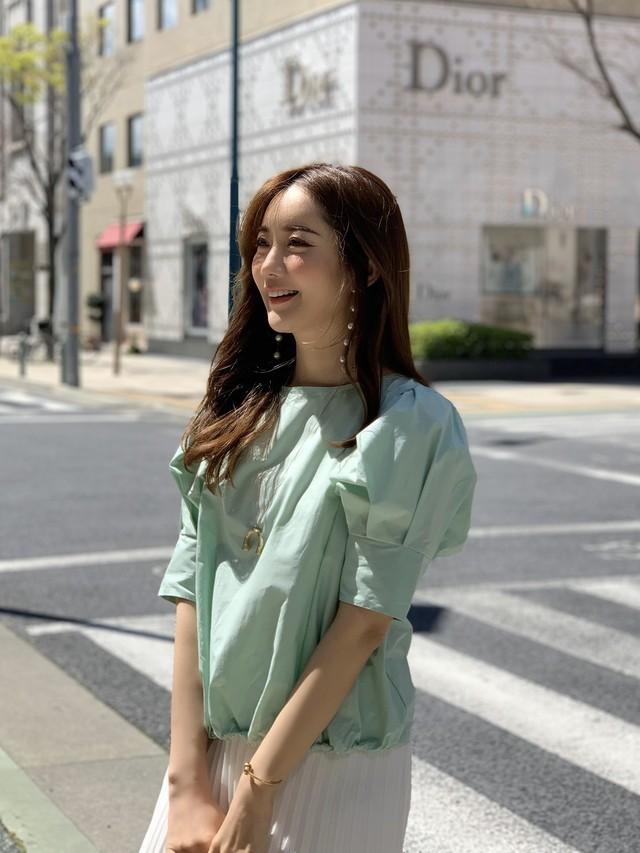 【予約】puff sleeve blouse / mint (5月中旬発送予定)