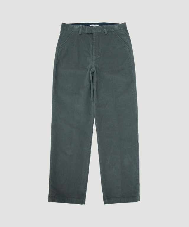 OUR LEGACY Chino 24 Dry Olive Moleskin M4194CDO
