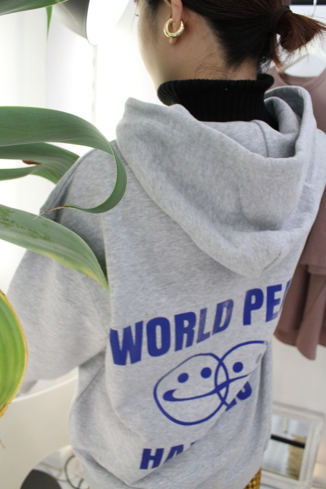 【stamp】WORLD PEACE HAPPINESS parker