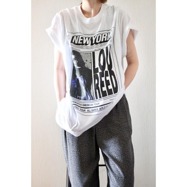 Vintage Lou Reed big silhouette shirt