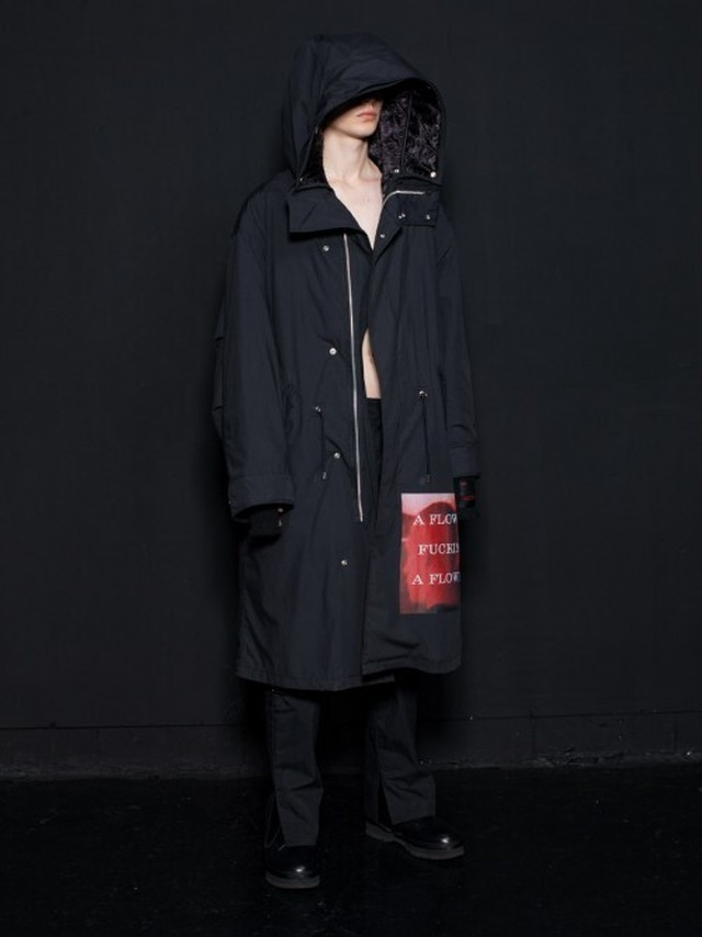 【ALMOSTBLACK】MODS COAT 20AW-CO02