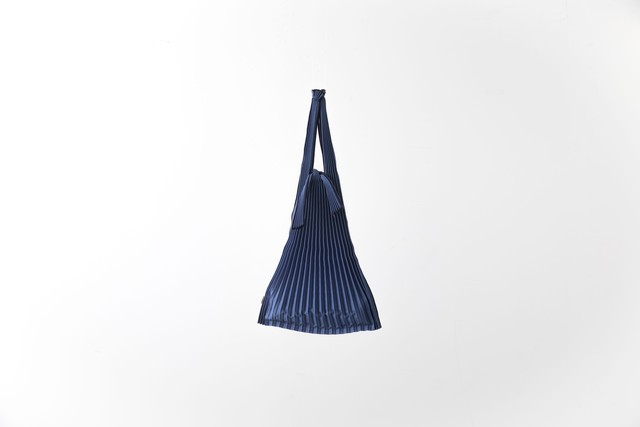 PLECO TATE-PLEATS : S (NAVY) / kna plus
