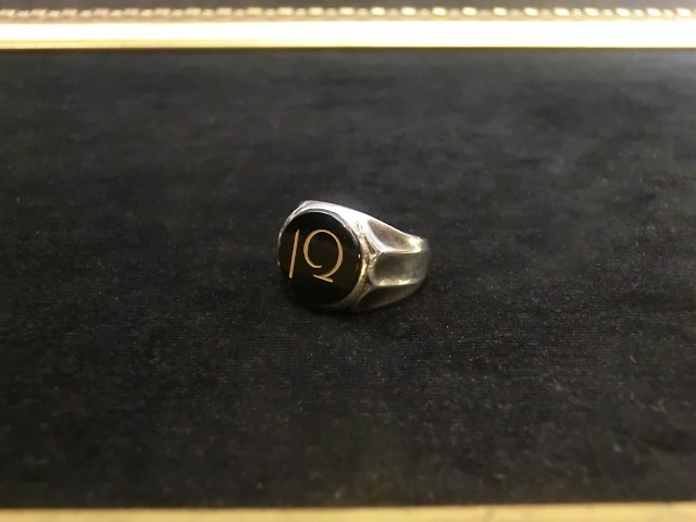 ENGRAVING RING -Ivory-