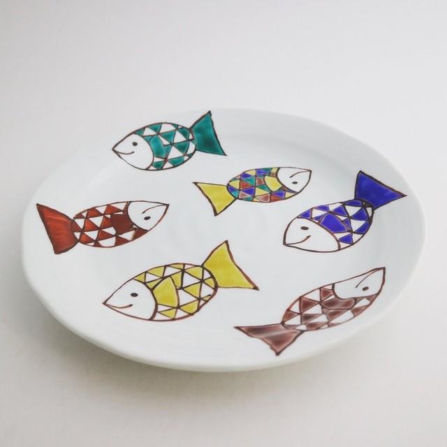 九谷フェスティバル  色絵さかな 皿