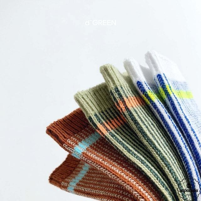 «予約» jacquard socks 3set  ジャガード ソックス 靴下
