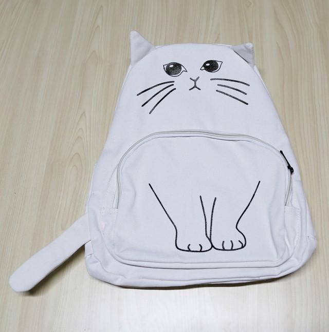 猫リュック(にゃんこリュック)白猫